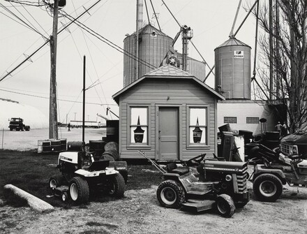 Untitled (Behind Don's Gas Station, Randolph, Wisconsin, May 1981)