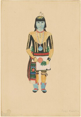 Standing Male Hopi Indian