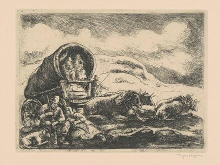 Pioneers Resting