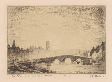 La Marne à Château-Thierry