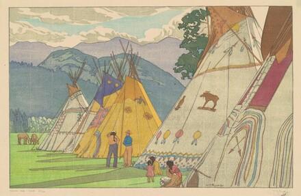 Indian Days—Banff