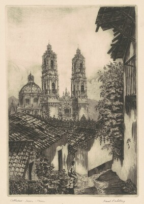 Cathedral—Taxco—Mexico