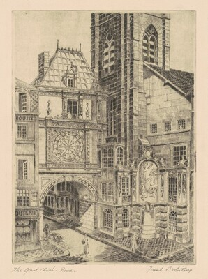 The Great Clock—Rouen