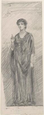 Female Figure in a Classical Costume