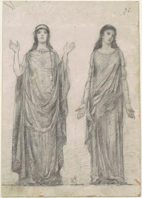 Female Figures in Classical Costumes