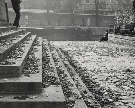 Vert Galant on a Fall Afternoon, Paris