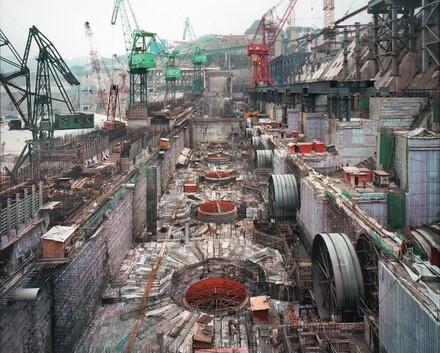 Dam #6, Three Gorges Dam Project, Yangtze River, China