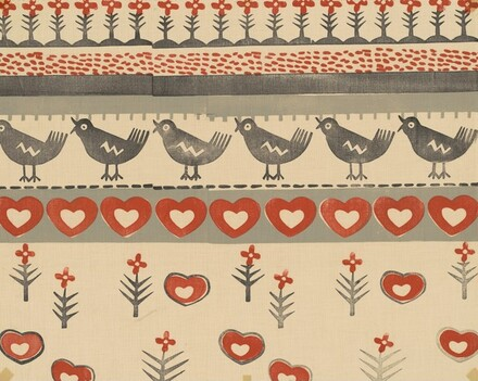 Birds, Hearts, and Flowers