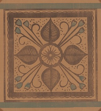Pennsylvania Dutch Leaf Design