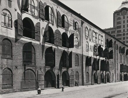 The Empire Stores warehouse on Water Street and Dock Street in Brooklyn