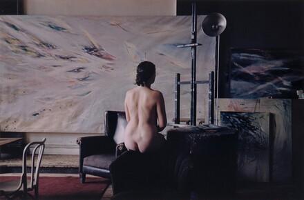 Eleanor in Hugo Weber's Studio, Chicago