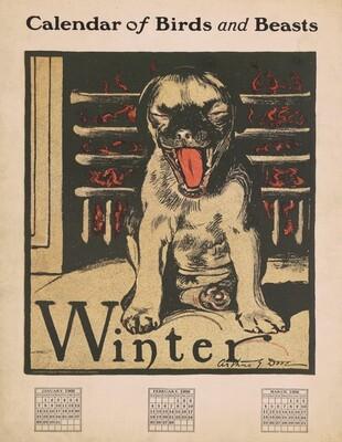 Calendar of Birds and Beasts: Winter