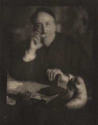 Portrait of Anatole France