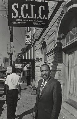 Martin Luther King, Southern Christian Leadership Conference Headquarters, Atlanta, Georgia