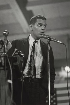 Julian Bond, New Politics Convention, Chicago, Illinois