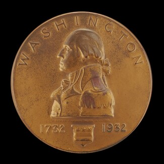 The Official George Washington Bicentennial Commemorative Medal [obverse]