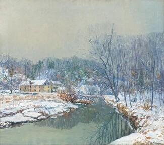 Edward Willis Redfield, The Mill in Winter, 19211921