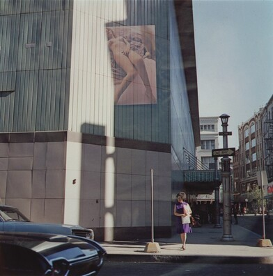 Multiple Exposure: Nude on Building, Providence