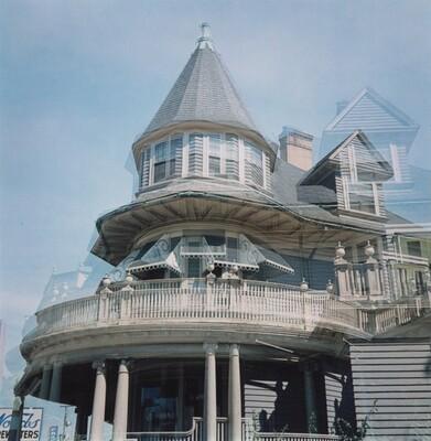Multiple Exposure: Revolving House, Providence