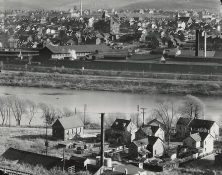 View of Easton, Pennsylvania