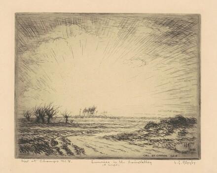 Ciel et Champs No. 8, Sunrise in the Loire Valley