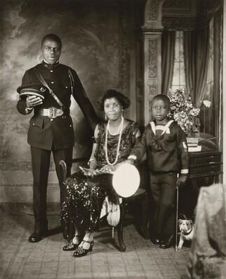 Garveyite Family, Harlem