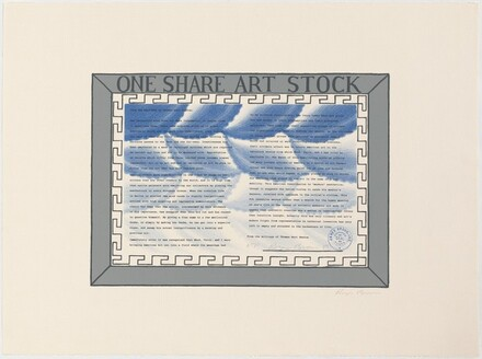 One Share Art Stock