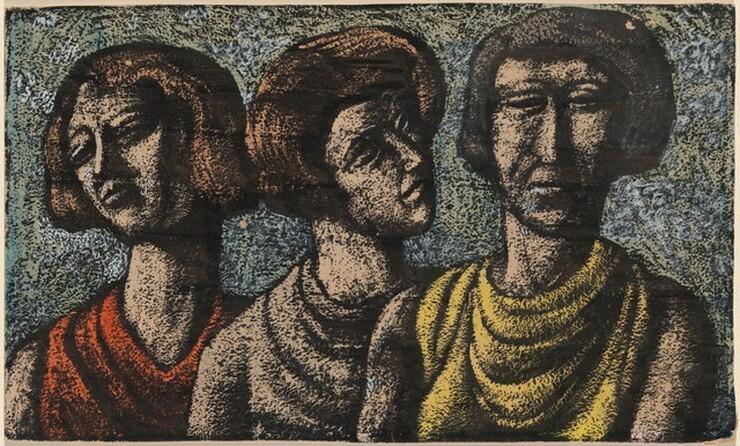 Federico Castellón, Three Women, 1935