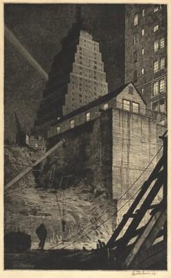 Building a Babylon, Tudor City, N.Y.C.