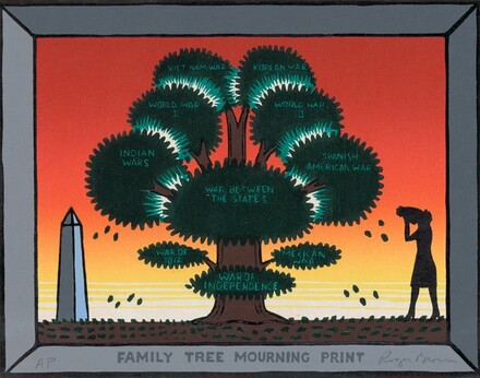 Family Tree Mourning Print