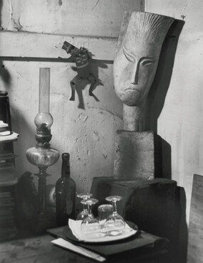 In Zadkine's Studio, Paris