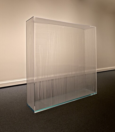 Hans Haacke, Condensation Wall, conceived 1963/1966, fabricated 2016conceived 1963/1966, fabricated 2016