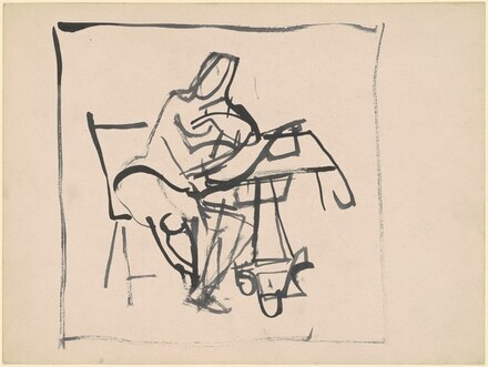 Seated Woman at Table