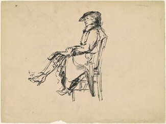 Seated Woman (recto)