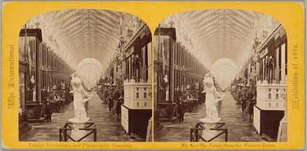 The International Exhibition of 1862 — The Nave, from the Western Dome