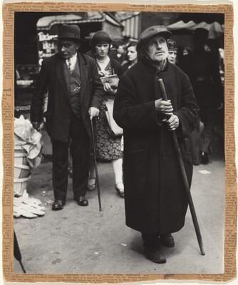 Beggar, Paris