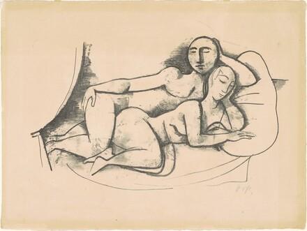 Sleeping Couple II [Schlafende II]
