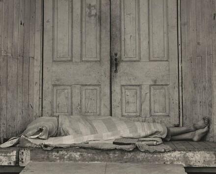 Death in the Doorway, Grayson, San Joaquin Valley, California