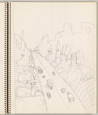 Study for Untitled (Las Vegas)