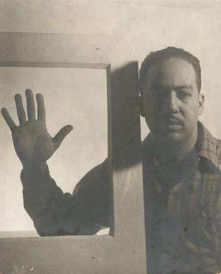 Gordon Parks, Langston Hughes, Chicago, December 1941