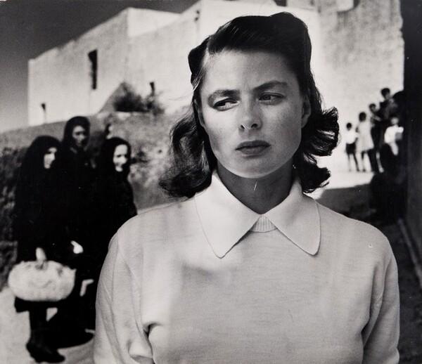 Ingrid Bergman, Stromboli, Italy