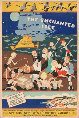 The Enchanted Isle, Martha's Vineyard (poster)