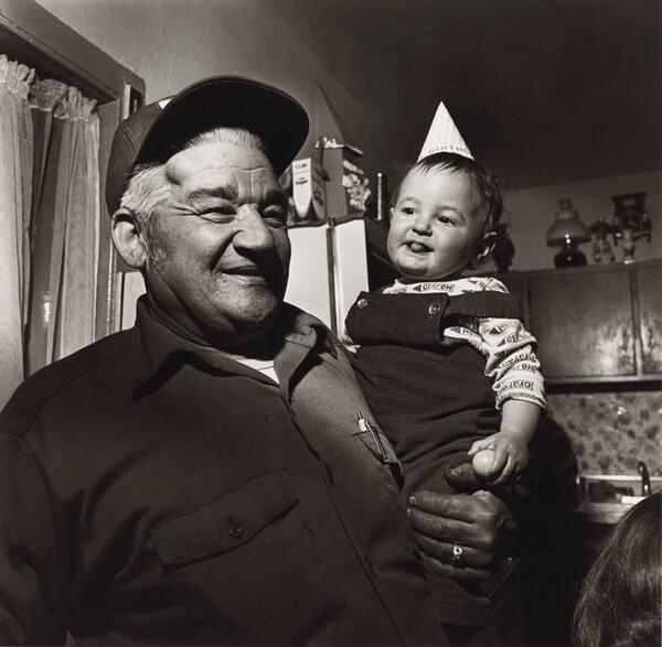 John Sabatine and Molly at Pat Sabatine's Eleventh Birthday, Martins Creek, Pennsylvania