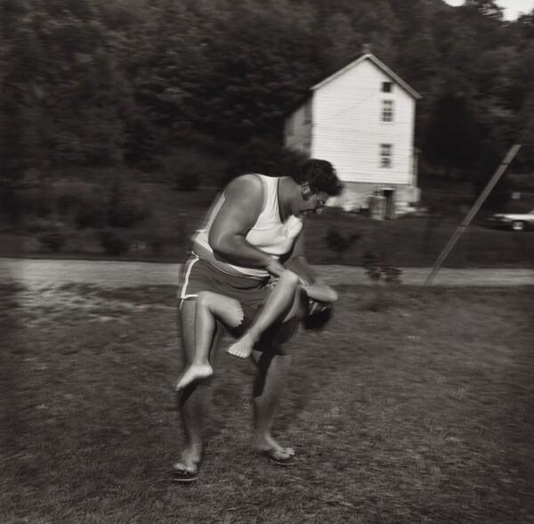 Pat Sabatine and Big Stuff, Martins Creek, Pennsylvania