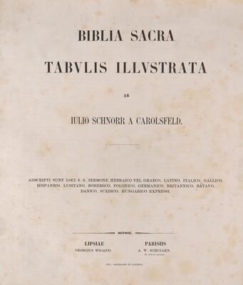 Biblia Sacra tabulis illustrata
