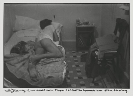 Peter O. sleeping in our small room Tangier 1961. Did Sex Experiments there.