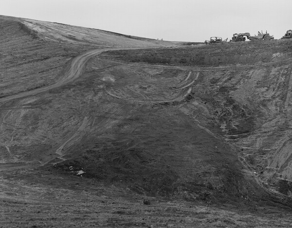 Cleared Hillside, Diamond Bar, California