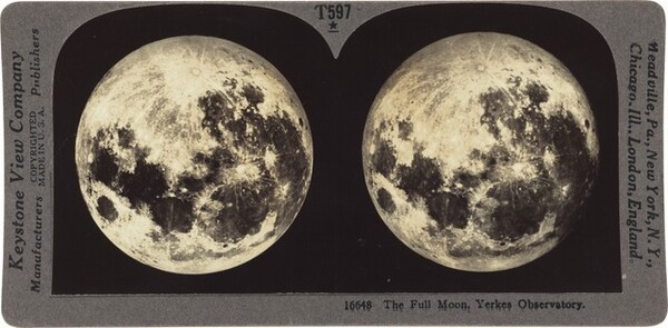 The Full Moon. Yerkes Observatory.