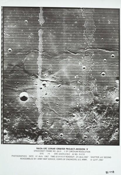 Lunar Orbiter, Medium Resolution, LOIV M-069 ACE