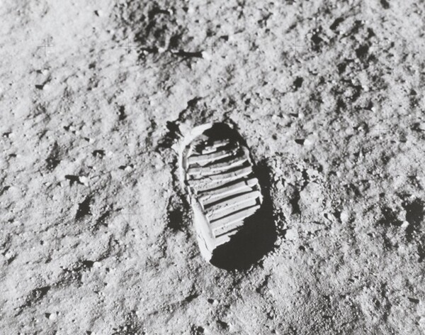 Buzz Aldrin's Footprint